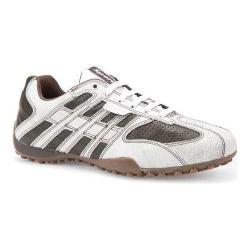 sale   GEOX Snake L sneakers sale scam+mesh beige