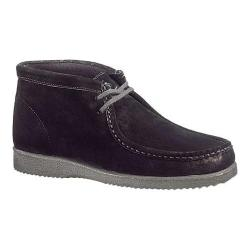 Men's Hush Puppies Bridgeport Black Suede