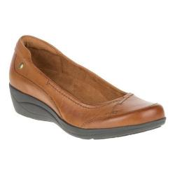 Women's Hush Puppies Kellin Oleena Slip On Tan Leather