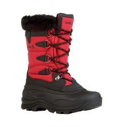 Women's Kamik Shellback Boot Dark Red