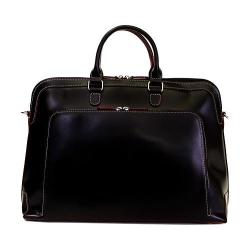 Women's Lodis Audrey Brera Briefcase Black/Red