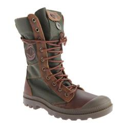 Women's Palladium Pampa Tactical 92604 Brown/Olive Drab