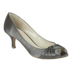 Women's Pink Paradox London Romantic Peep-Toe Pump Slate Satin