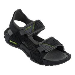 Boys' Rider Tender VIII Active Sandal Black/Gray