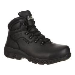 Men's Rocky 6in Bigfoot Composite Toe RKK0113in Boot Black Leather