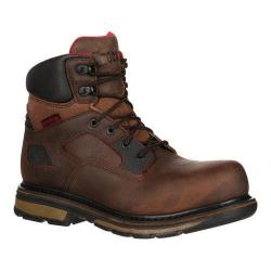 Men's Rocky 6in Hauler Composite Toe RKK0128 Boot Brown Leather