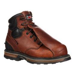Men's Rocky 6in MetGuard Steel Elements Steel Toe RKYK086in Boot Dark Brown