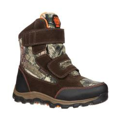 Children's Rocky 6in R.A.M Waterproof Insulated RO037 Medium Brown/MO Infinity Leather/Nylon