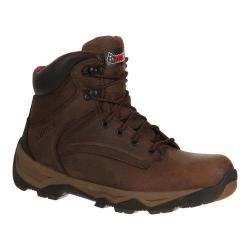 Men's Rocky 6in Retraction Steel Toe RKK0121in Boot Brown Leather Nylon