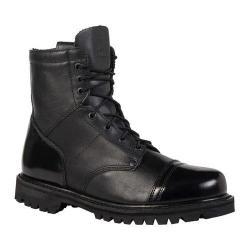 Men's Rocky 7in Zipper Paraboot 2091 Black Leather