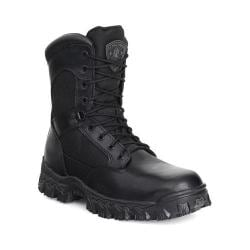 Men's Rocky 8in AlphaForce 2165 Black Leather