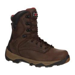 Men's Rocky 8in Retraction RKK0118 Boot Brown Leather Nylon