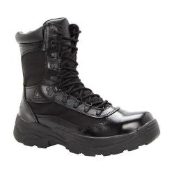 Men's Rocky 8in Zipper 2149 Black Leather
