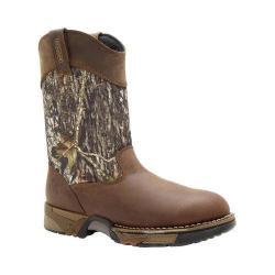Men's Rocky Aztec Wellington 10in Boot 2871 Mossy Oak Break Up