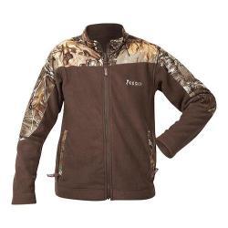 Boys' Rocky Fleece Jacket HW00021 Brown/Realtree APXtra