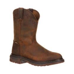 Men's Rocky Original Ride Roper Western Boot 1108 Tan