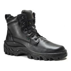 Men's Rocky Robuster Plain Toe Chukka 5019 Black Leather