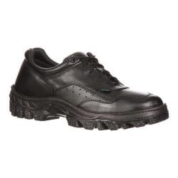 Men's Rocky TMC Plain Toe Oxford 5001 Black Leather