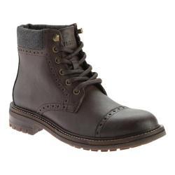 Men's Tommy Hilfiger Herbie Boot Dark Brown Vegas Pu/Charcoal Flannel