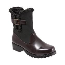 Women's Trotters Blast III Boot Bordeaux/Black Brush Off Box Synthetic/Rubber
