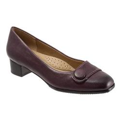 Women's Trotters Dionne Burgundy Casual Veg Leather