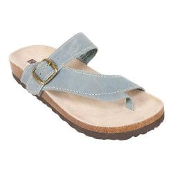 Women's White Mountain Carly Light Blue Leather