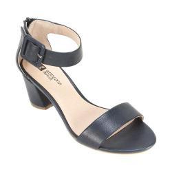 Women's White Mountain Elixir Ankle Strap Sandal Navy Smooth Synthetic