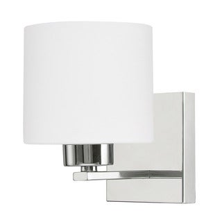 Capital Lighting Steele Collection 1-light Chrome Wall Sconce