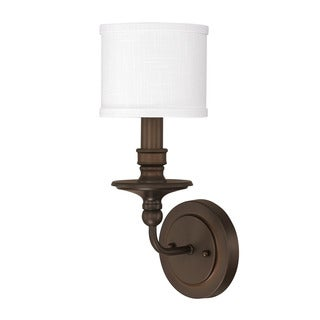 Capital Lighting Midtown Collection 1-light Burnished Bronze Wall Sconce