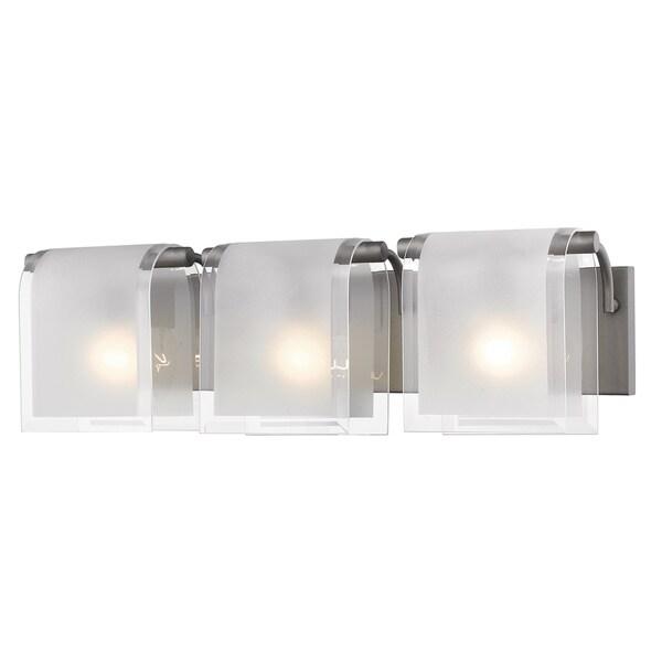Z-Lite Zephyr 3-lights Factory Bronze Vanity