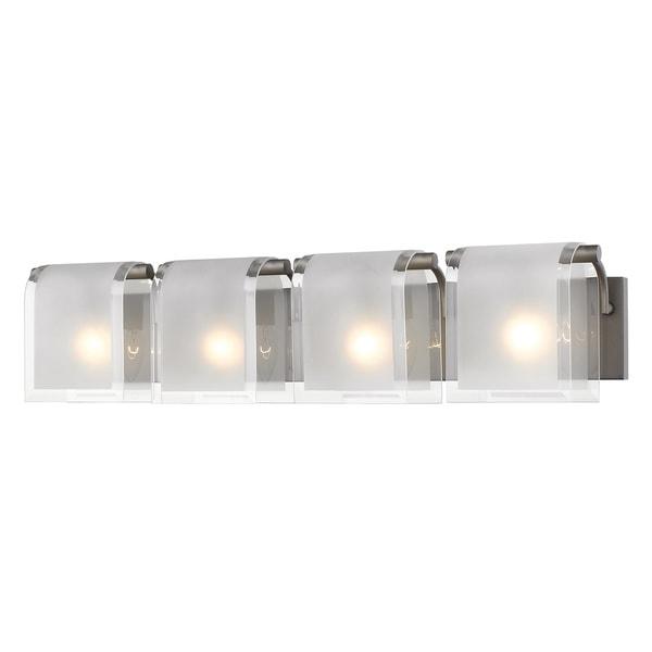 Z-Lite Zephyr 4-lights Factory Bronze Vanity