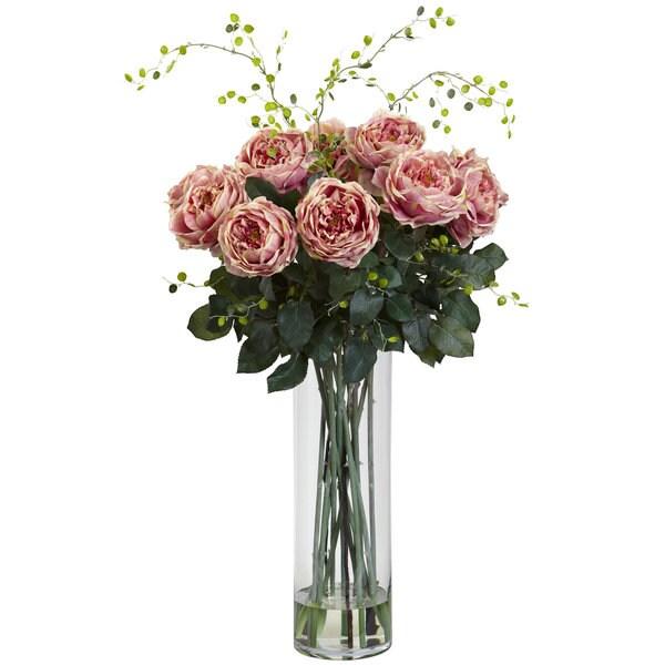 Giant Fancy Rose & Willow Arrangement