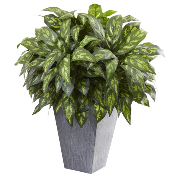 Silver King w/Slate Planter