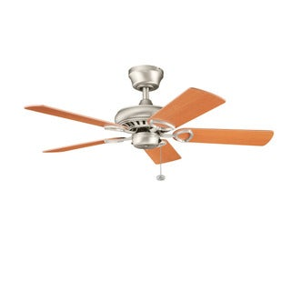 Kichler Lighting Sutter Place Collection 42-inch 5-blade Brushed Nickel Ceiling Fan