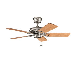 Kichler Lighting Sutter Place Collection 42-inch 5-blade Antique Pewter Ceiling Fan