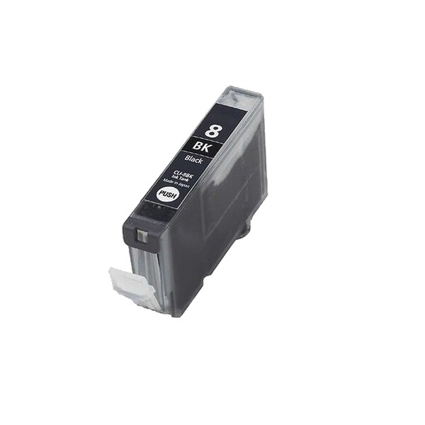 1PK CLI-8Bk Black Compatible Inkjet Cartridge For Canon PIXMA IP4200 5200 6600D 6700D MP500 MP800 (Pack of 1)