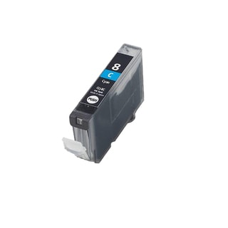 1PK CLI-8C Cyan Compatible Inkjet Cartridge For Canon PIXMA IP4200 5200 6600D 6700D MP500 MP800 (Pack of 1)