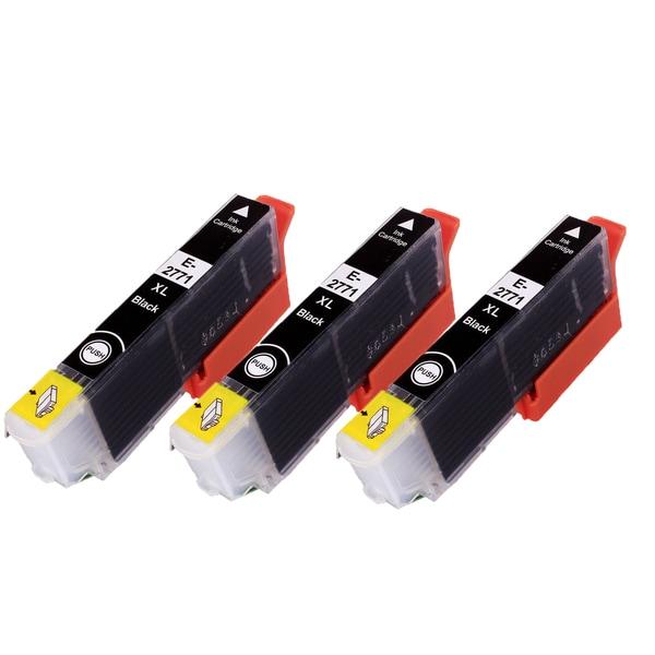 3PK T2771 Black Compatible Inkjet Cartridge For Epson XP-860 XP-950 (Pack of 3)