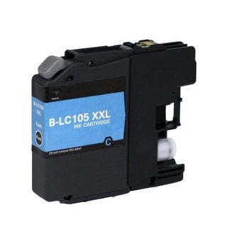 1 PK Compatible LC105 C XL Inkjet Cartridge For Brother MFCAN-J4410 J4110 (Pack of 1)