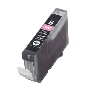 1PK CLI-8PM Photo Magenta Compatible Inkjet Cartridge For Canon PIXMA IP 5200R 6600D 6700D MP950 Pro 9000 (Pack of 1)