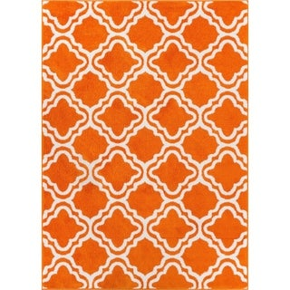 Well Woven Bright Modern Trellis Rug (3'3 X 5')