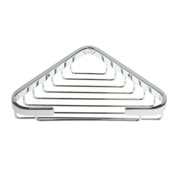 Naples Series Chrome Corner Shower Basket