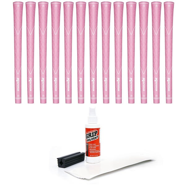 Karma Pink Rose Scented 13-piece Golf Grip Kit