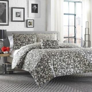 City Scene Layla Comforter Set with Bonus Decorative Pillow