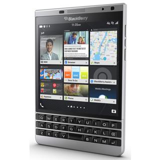 Blackberry Passport SQW100-4 Unlocked 32GB GSM 4G LTE Cell Phone With 3-row keyboard - Silver