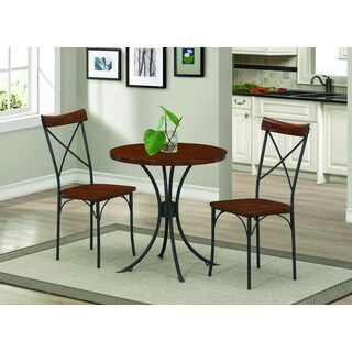 Three-piece Table and Chairs Bistro Set
