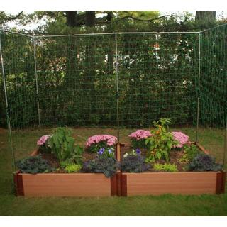Frame It All Raised Garden 2-inch (4' x 8') 2 Level c/w 2 Veggie Wall