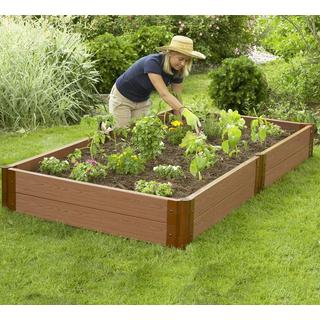 Frame It All Raised Garden 2-inch (4' x 8') 2 Level