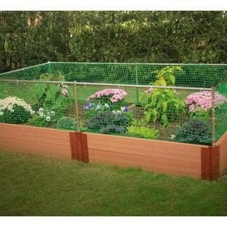Frame It All Raised Garden 2-inch (4' x 8') 2 Level c/w Animal Barrier