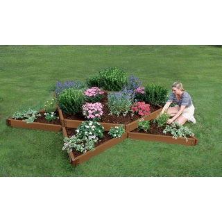 Frame It All Raised Garden Garden Star 2-inch